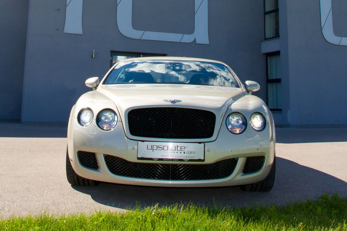 Bentley Continental GT Speed 690PS!
