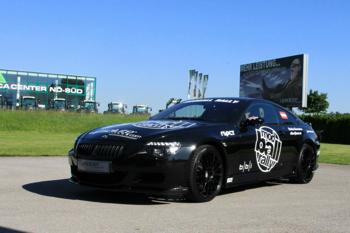 UPsolute BMW M6 (552PS) bei ModBall Rally 2013!