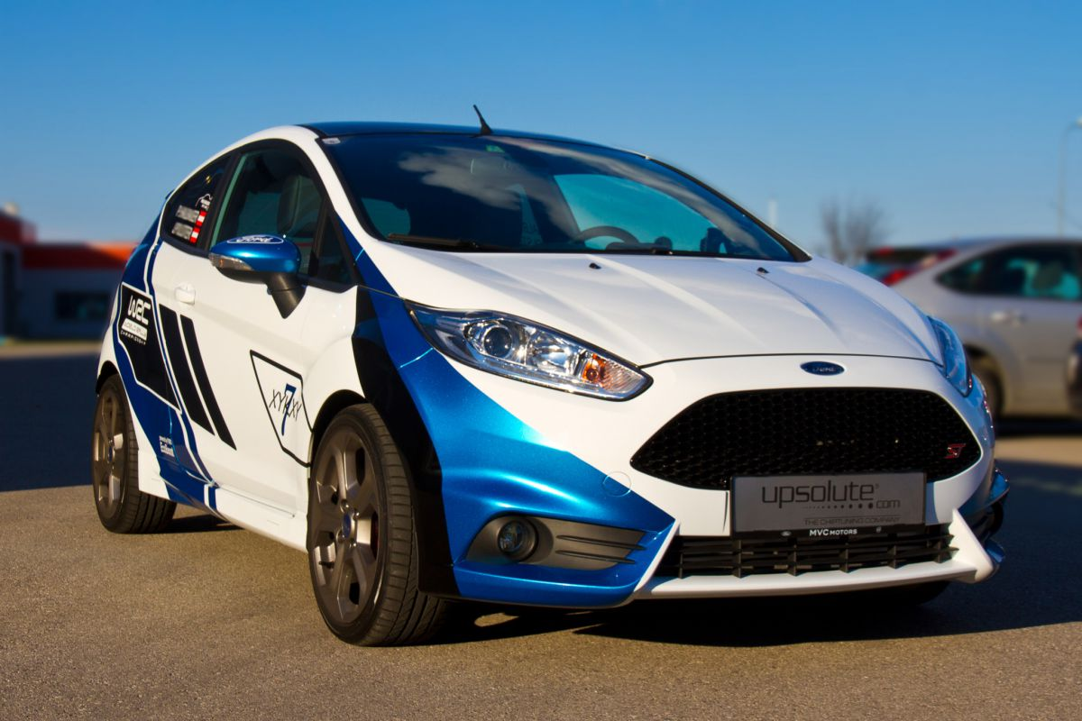 Chiptuning - Ford Fiesta ST (WRC)