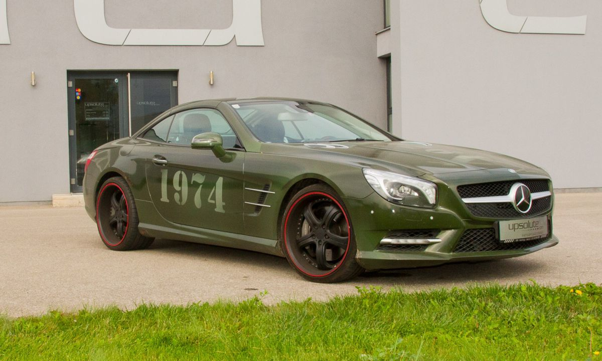 Mercedes SL 500 - 800NM/505hp!