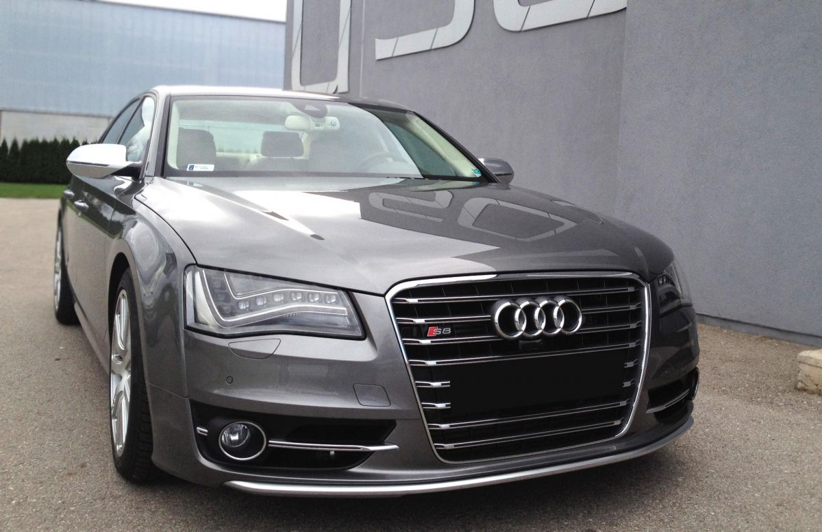 Aktuell getuned: Audi S8!